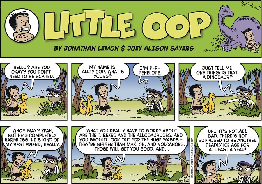 Alley Oop Comic Strip for February 16, 2020