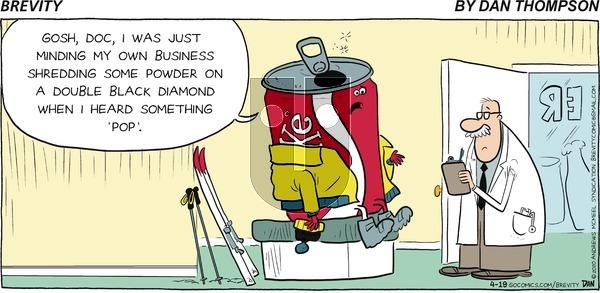 Brevity on Sunday April 19, 2020 Comic Strip