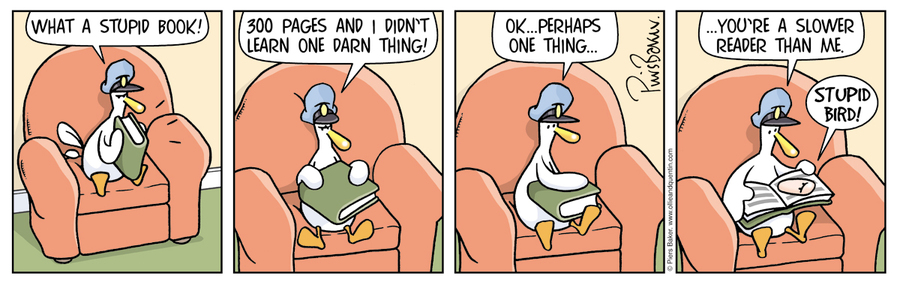 Ollie and Quentin for Apr 19, 2013 Comic Strip