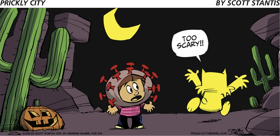 Prickly City Comic Strip for October 25, 2020