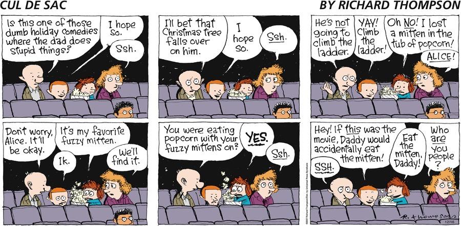 Cul de Sac for Dec 16, 2007 Comic Strip