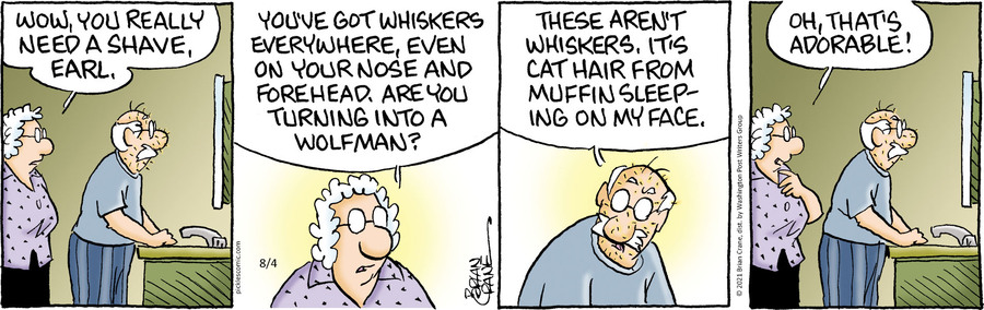 Pickles Comic Strip for August 04, 2021
