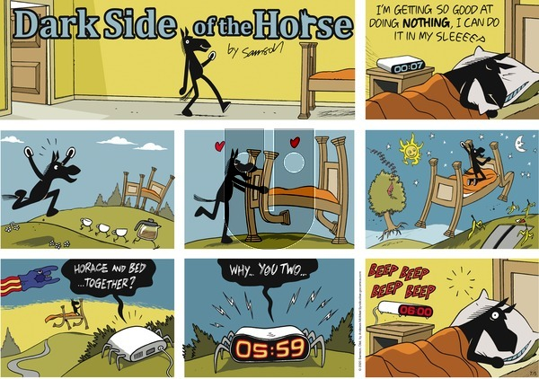 Dark Side of the Horse on Sunday July 5, 2020 Comic Strip