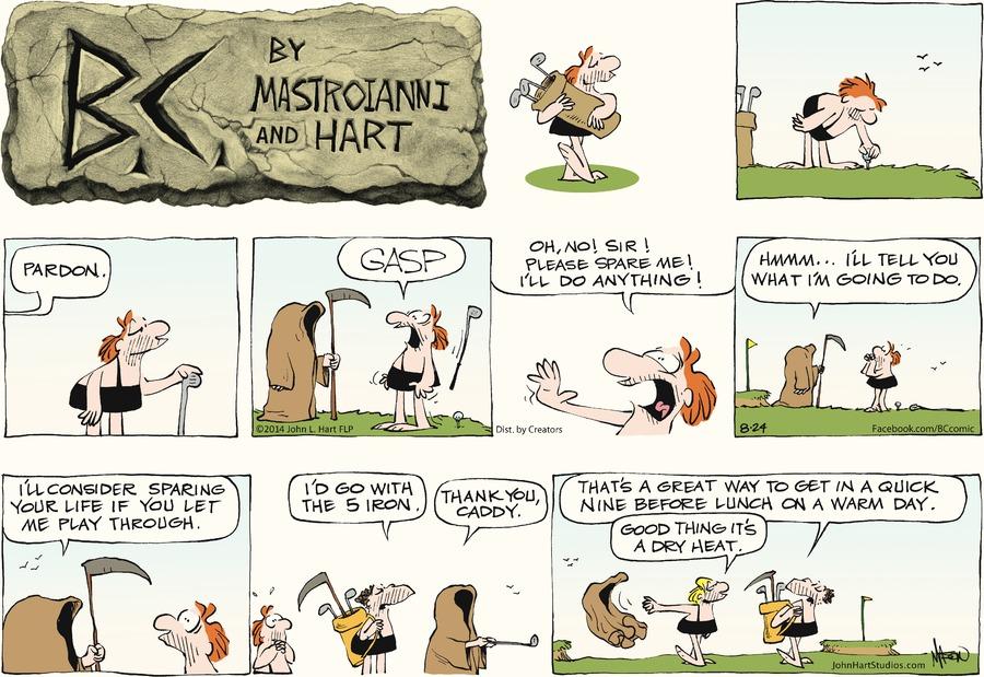B.C. for Aug 24, 2014 Comic Strip