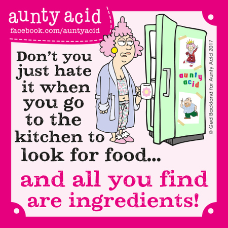 Aunty Acid for Sep 26, 2017 Comic Strip