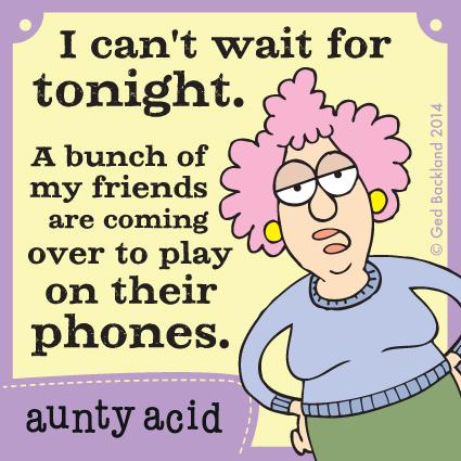 Aunty Acid for Mar 2, 2014 Comic Strip