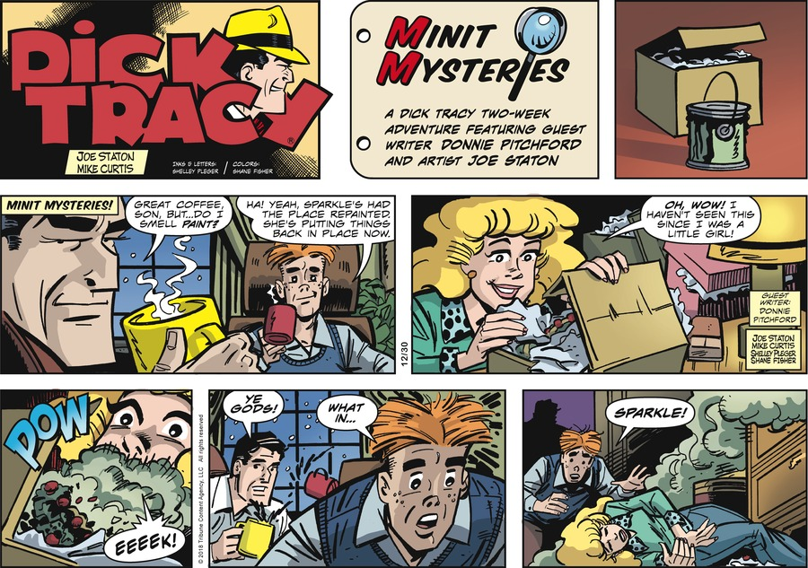 Dick Tracy Comic Strip for December 30, 2018