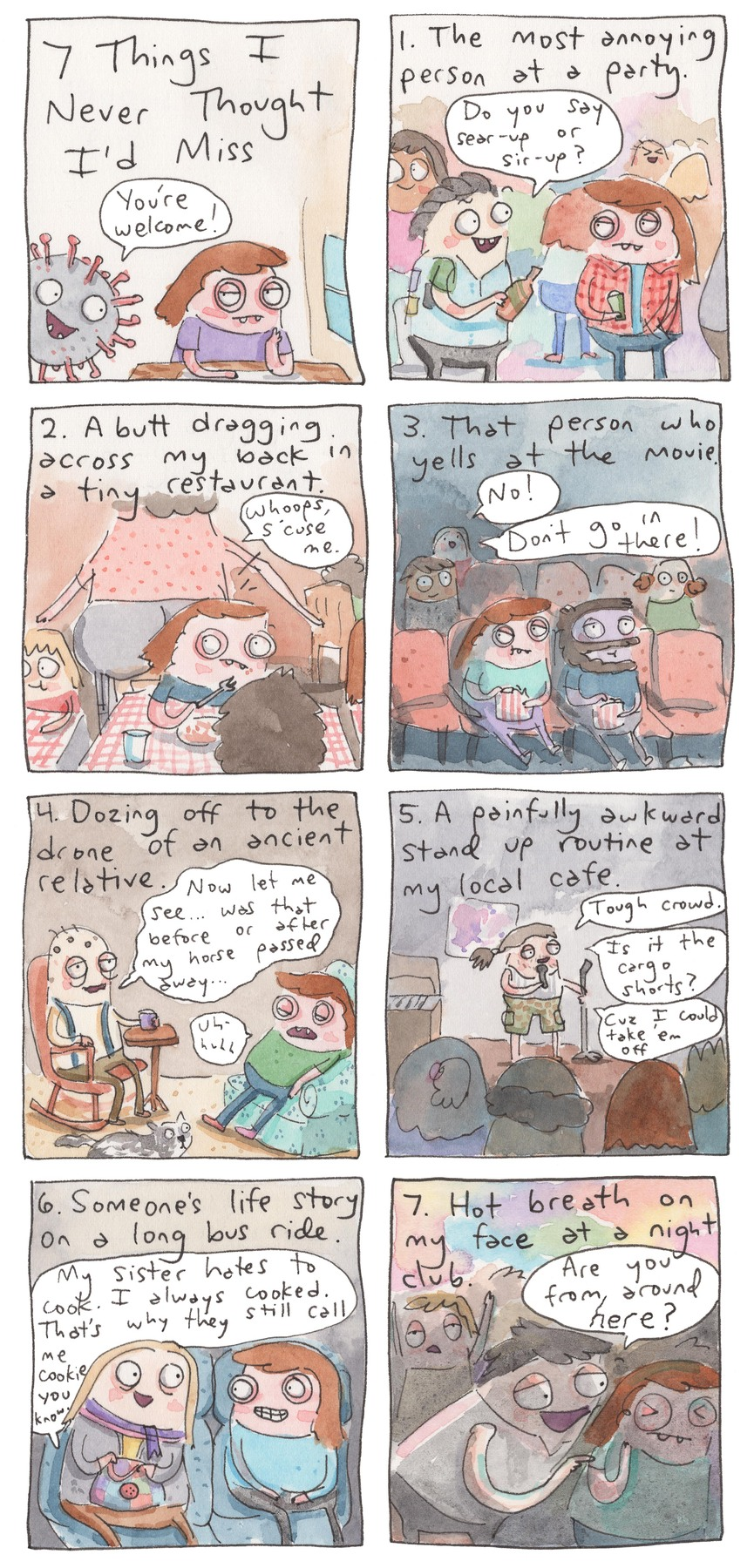 Underpants and Overbites Comic Strip for June 10, 2021