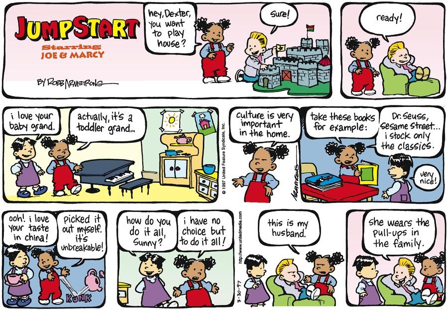 JumpStart for Mar 30, 1997 Comic Strip