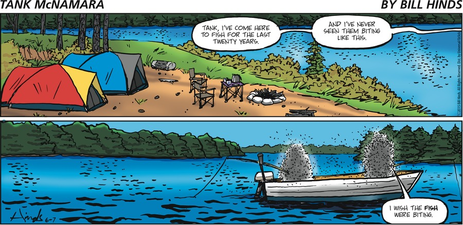 Tank McNamara Comic Strip for June 07, 2015