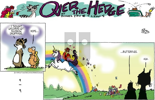 Over the Hedge on Sunday September 9, 2018 Comic Strip