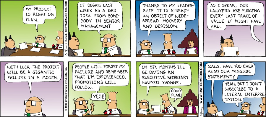 Dilbert Classics Comic Strip for September 20, 2020