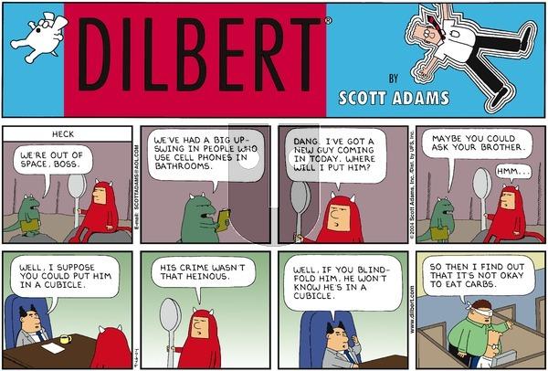 Dilbert on Sunday September 26, 2004 Comic Strip