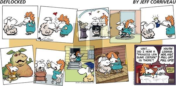 DeFlocked - Sunday October 24, 2010 Comic Strip