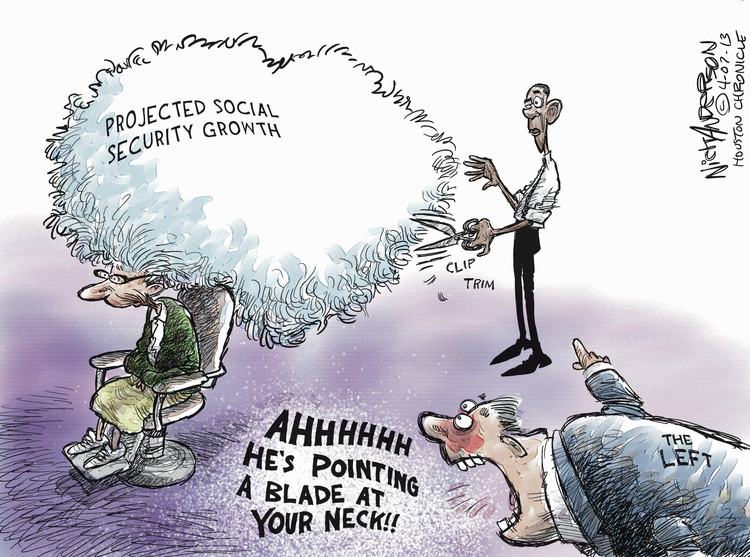 Nick Anderson for Apr 7, 2013 Comic Strip