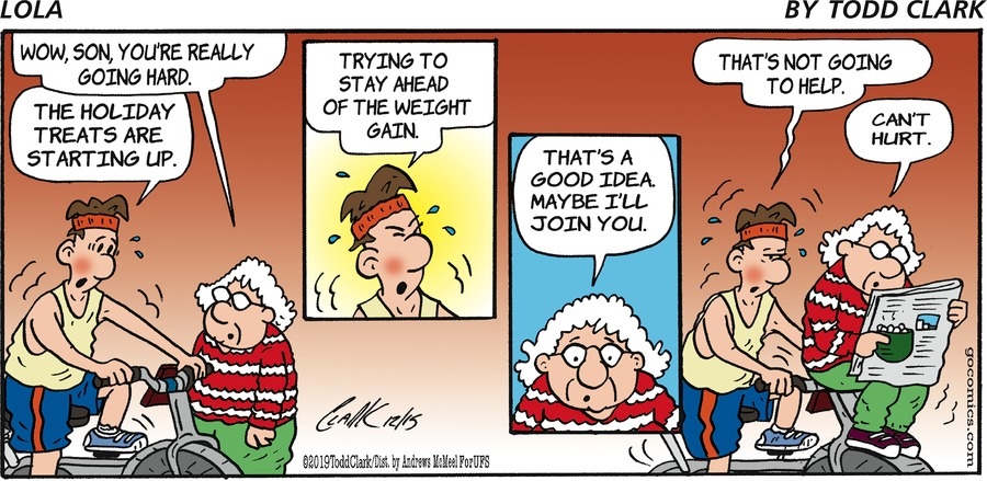 Lola Comic Strip for December 15, 2019