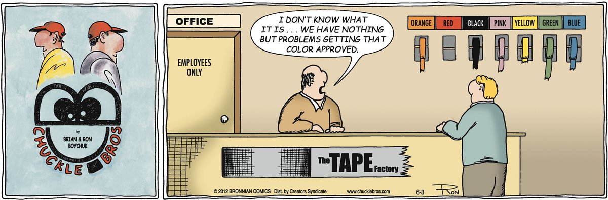 Chuckle Bros Comic Strip for June 03, 2012