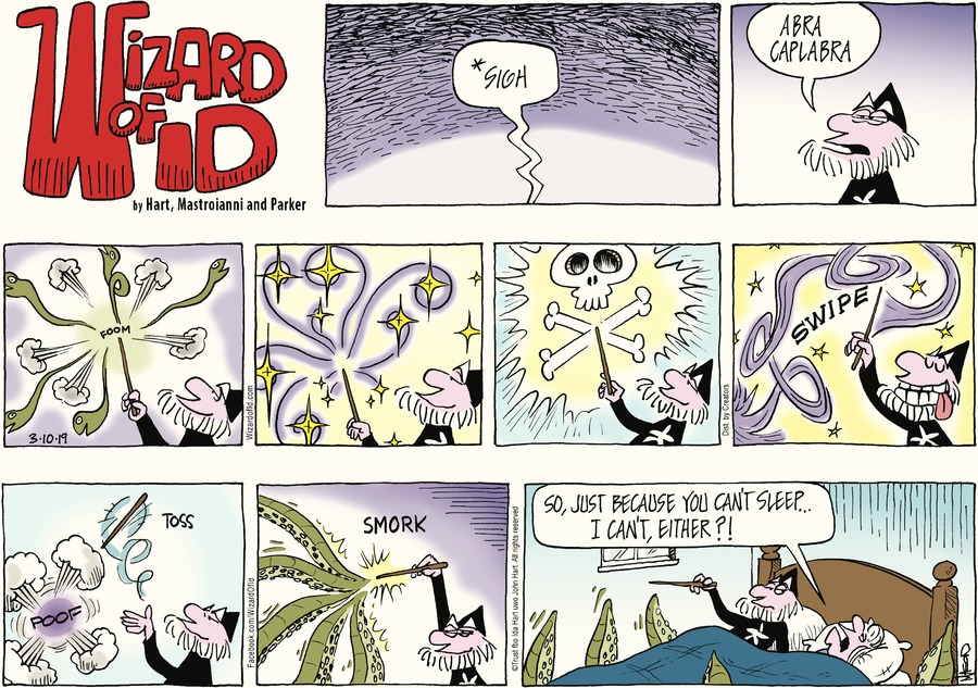 Wizard of Id Comic Strip for March 10, 2019