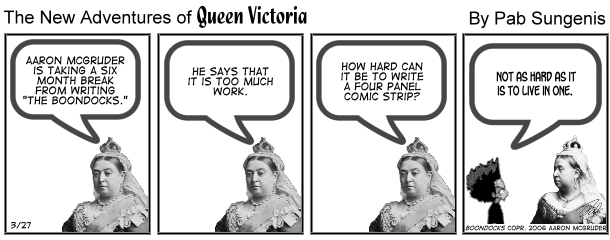 New Adventures of Queen Victoria Comic Strip for March 23, 2019