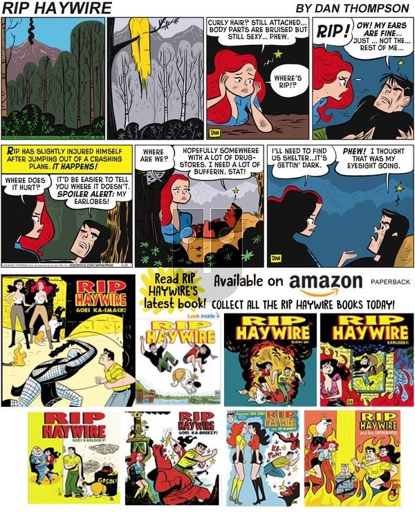 Rip Haywire - Sunday September 29, 2019 Comic Strip