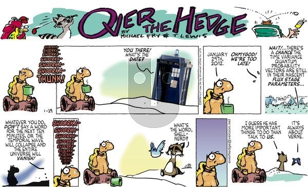 Over the Hedge - Sunday January 29, 2012 Comic Strip