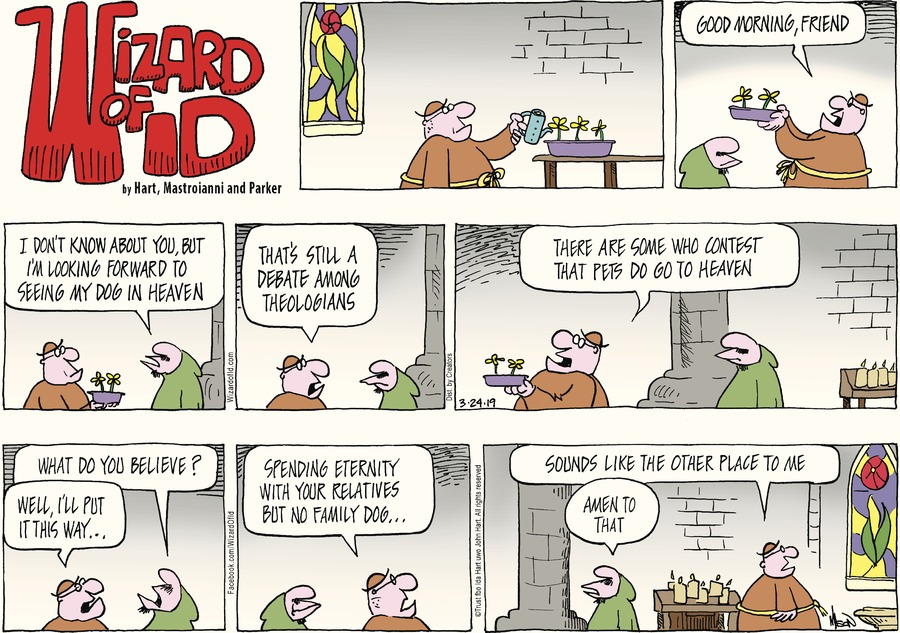 Wizard of Id Comic Strip for March 24, 2019