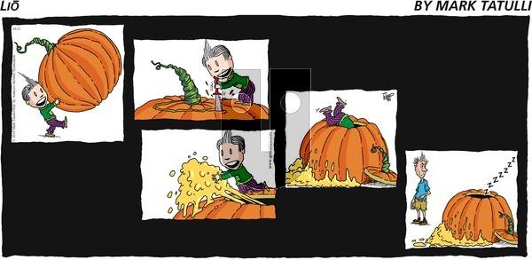 Lio on Sunday October 21, 2018 Comic Strip