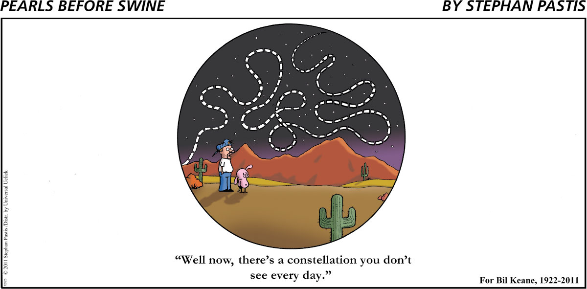 """""""Well now, there's a constellation you don't see every day."""""""