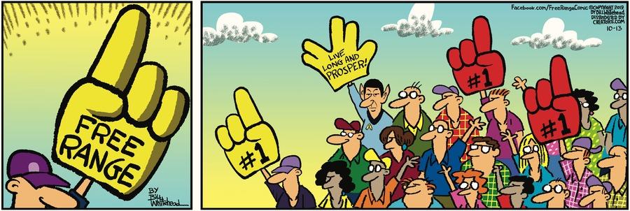 Free Range Comic Strip for October 13, 2019