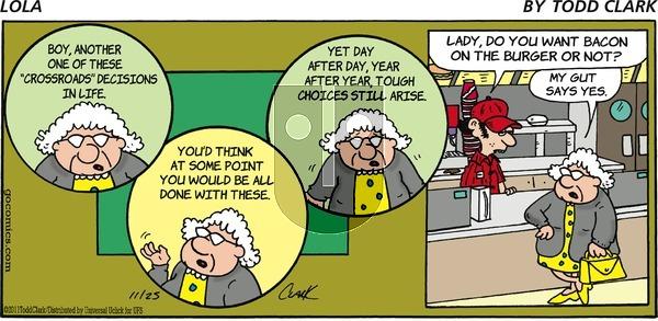 Lola on Sunday November 25, 2012 Comic Strip
