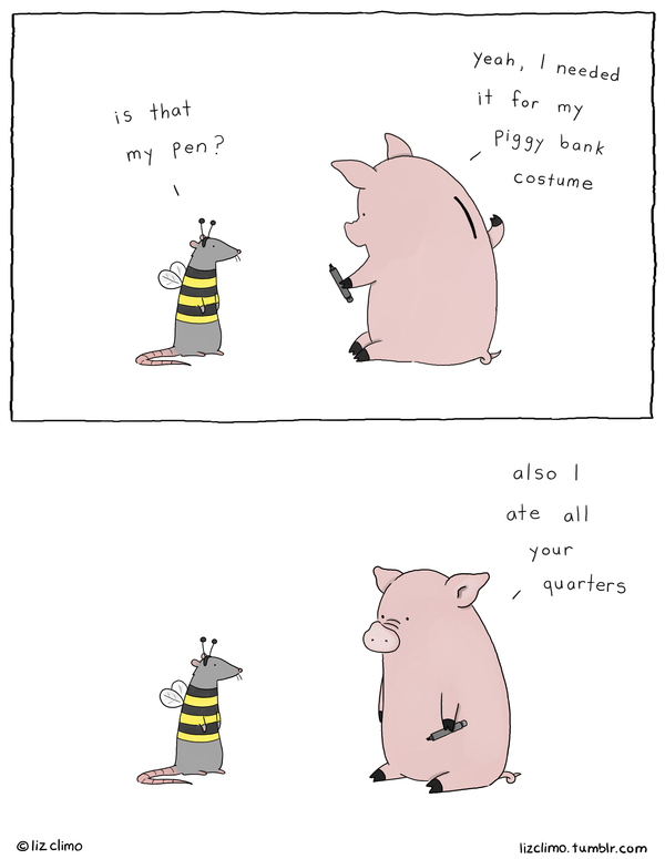 Liz Climo Cartoons Comic Strip for November 13, 2019
