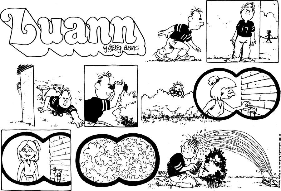 Luann Againn by Greg Evans for May 26, 2019