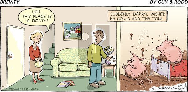 Brevity on Sunday May 7, 2006 Comic Strip