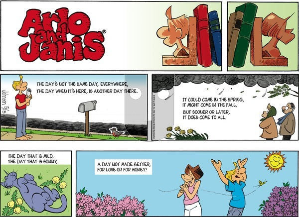 Arlo and Janis on Sunday May 13, 2018 Comic Strip