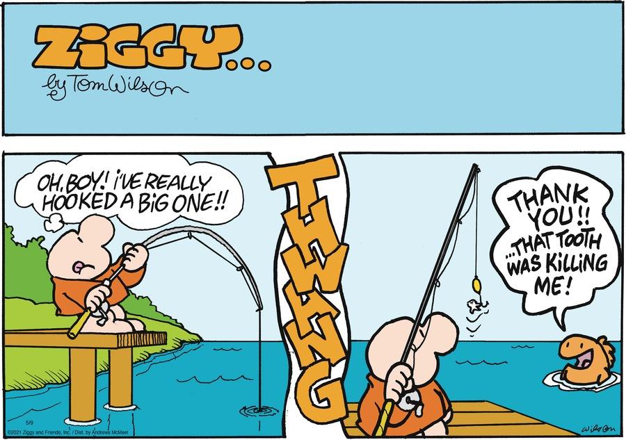 Ziggy Comic Strip for May 09, 2021