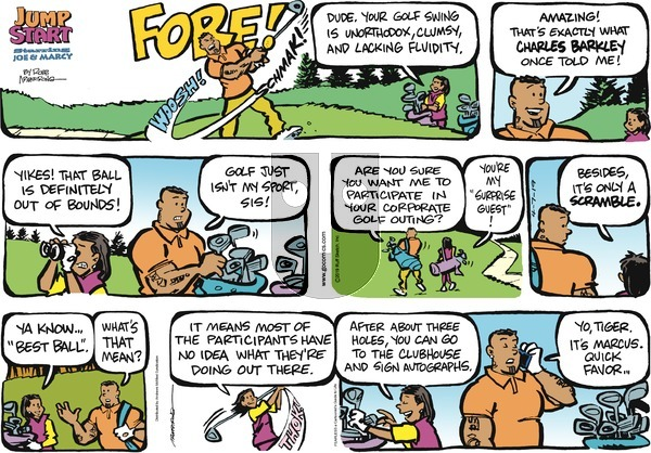 JumpStart on Sunday April 7, 2019 Comic Strip