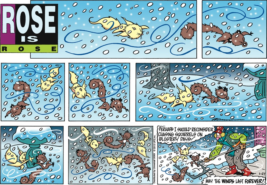 Rose is Rose Comic Strip for January 27, 2013