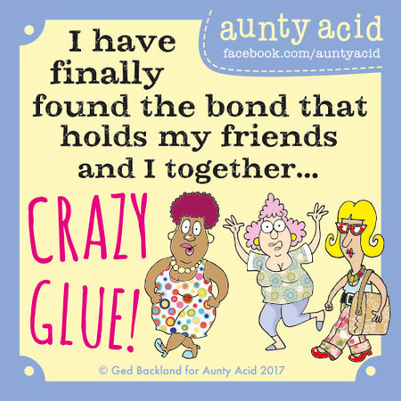 Aunty Acid for Nov 23, 2017 Comic Strip