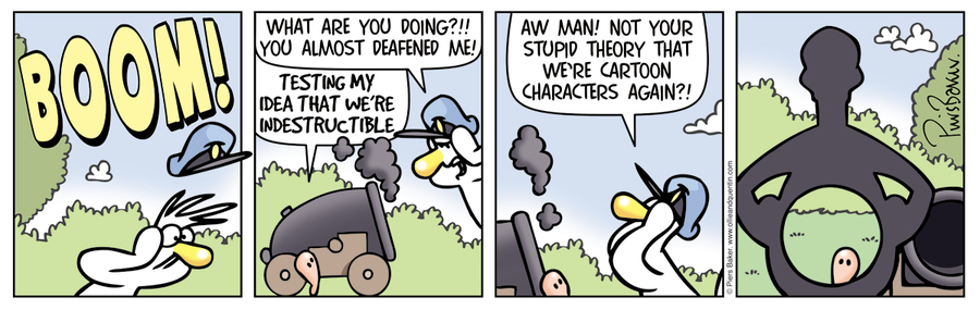 Ollie and Quentin Comic Strip for December 09, 2019