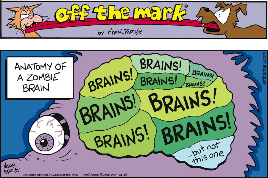 Off the Mark Comic Strip for October 25, 2020