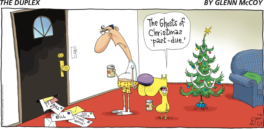 Fang: The ghosts of Christmas 'past-due.'