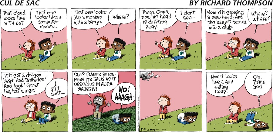 Cul de Sac for Apr 14, 2013 Comic Strip