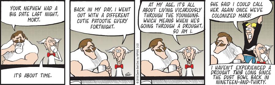 Rudy Park for Feb 22, 2018 Comic Strip