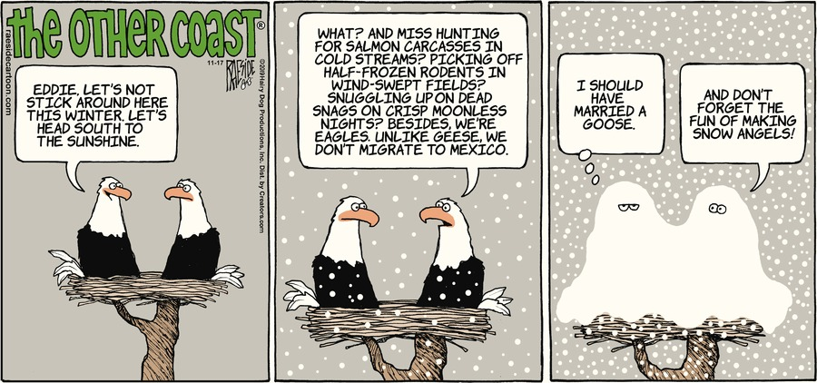 The Other Coast Comic Strip for November 17, 2019