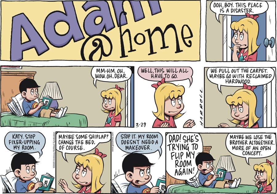 Adam@Home Comic Strip for March 29, 2020