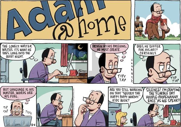 Adam@Home on Sunday December 8, 2019 Comic Strip