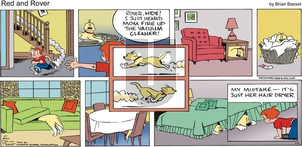 Red and Rover on Sunday May 3, 2020 Comic Strip