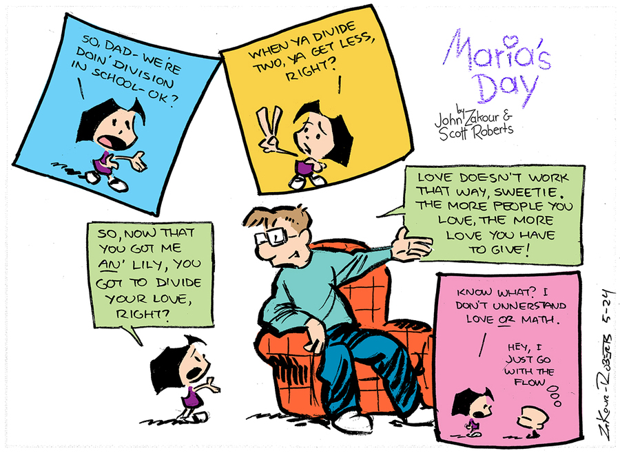 Maria's Day Comic Strip for September 08, 2019