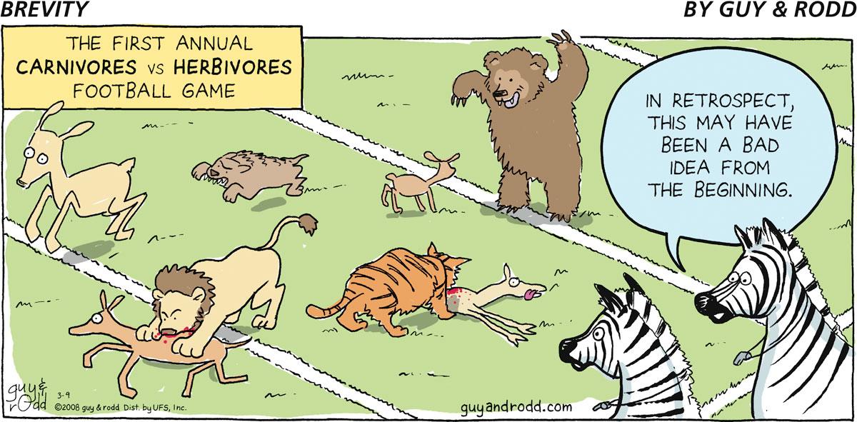 Brevity for Mar 9, 2008 Comic Strip