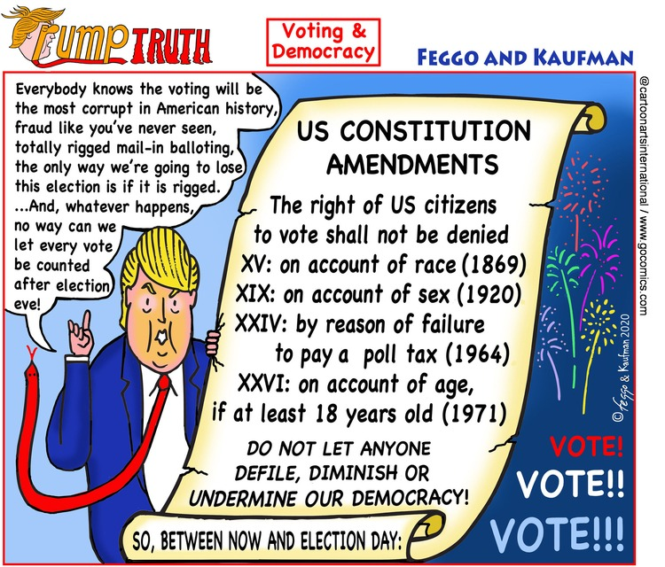 ViewsAmerica Comic Strip for November 01, 2020